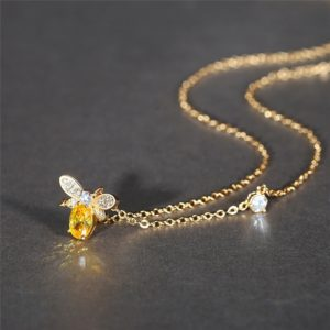 gucci bumble bee necklace