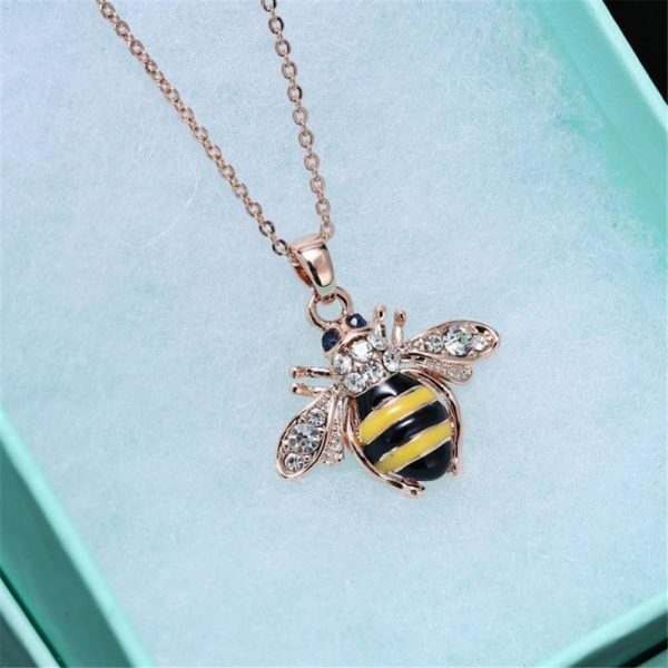bumble bee necklace tiffany