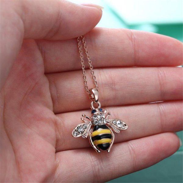 bumble bee necklace pandora