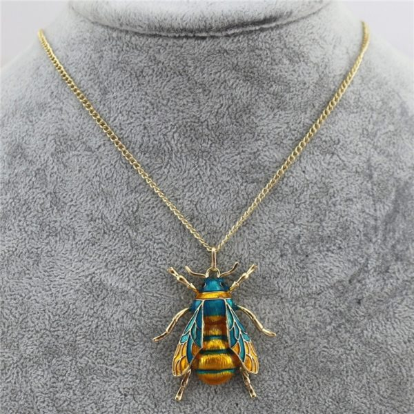 bumble bee necklace uk