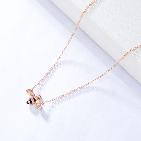 clogau honey bee necklace