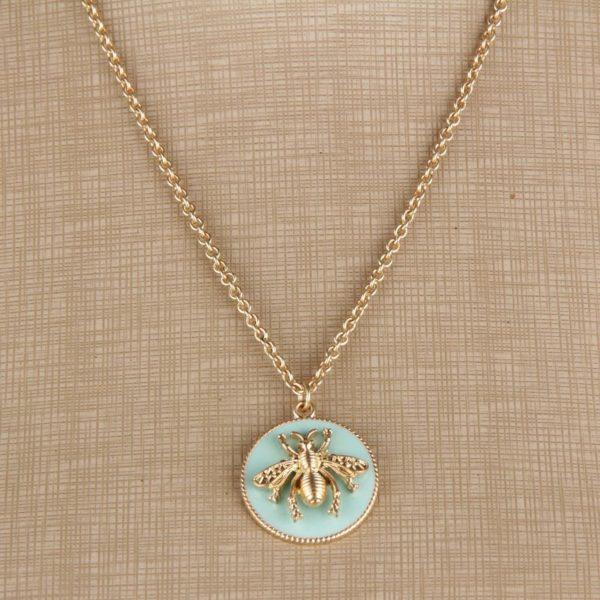 queen bee necklace anthropologie